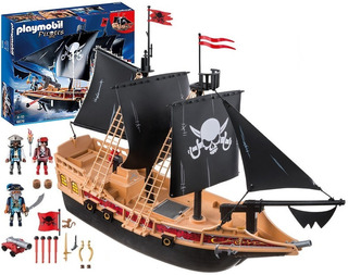 Gran Buque Corsario De Piratas Playmobil - Art. 6678 - Intek