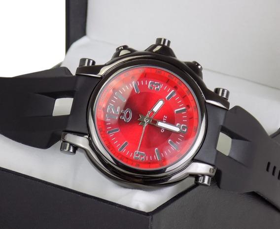 Relógio Orizom Spaceman Original Borracha Lindo Na Promoção