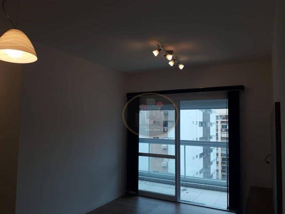 Apartamento Com 2 Dormitórios Para Alugar, 80 M² Por R$ 4.200/mês - Gonzaga - Santos/sp - Ap1706