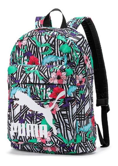 Mochila Puma Originals Backpack Floral Notebook