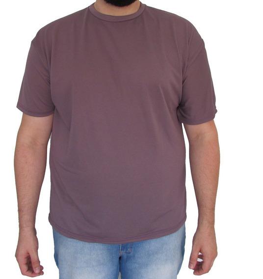 Kit 05 Camisetas Dry Fit Piquet Tamanho Grande