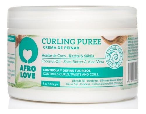 Crema Para Peinar Curling Pure Afro Love - g a $215