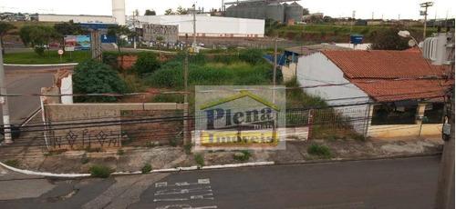 Terreno Para Alugar, 677 M² - Parque Bandeirantes I (nova Veneza) - Sumaré/sp - Te0867