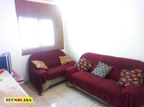Imagem 1 de 23 de Ótimo Apartamento Com 01 Dormitório Para Venda Com 35 M² No Bairro Cidade Ocian Em  Praia Grande/sp. - Ap6426