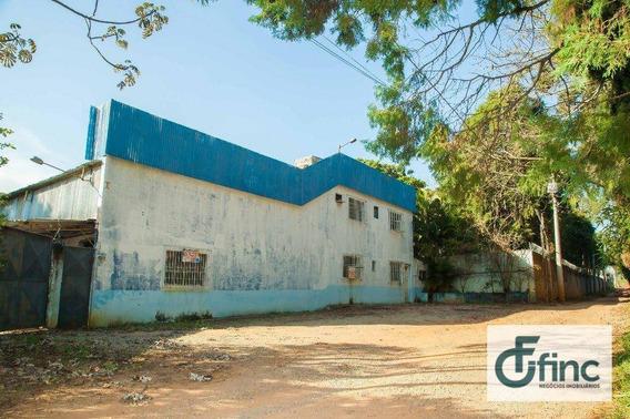 Galpão Industrial Para Venda E Locação, Éden, Sorocaba. - Ga0186