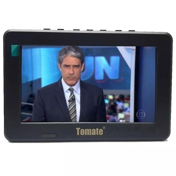 Kit Tv Portatil Hdtv Lcd 9 Polegadas Tela Monitor