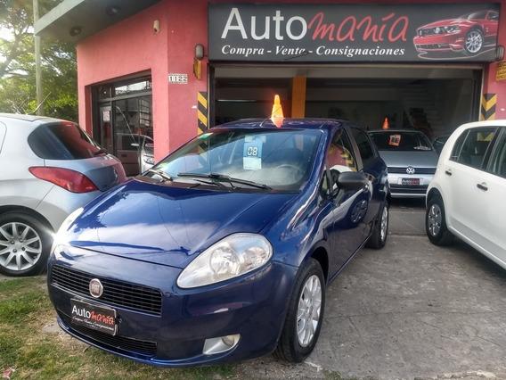 Fiat Punto 1.4 Elx Full 2008 Tomo Auto Fcio X Bco