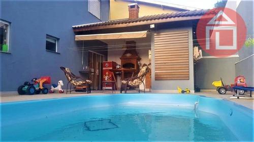Imagem 1 de 24 de Casa Com 4 Dormitórios À Venda, 298 M² Por R$ 1.800.000,00 - Condomínio Residencial Euroville - Bragança Paulista/sp - Ca2675