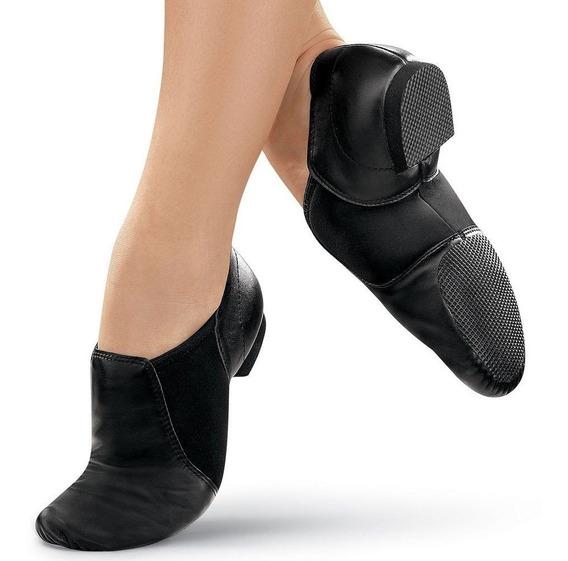 Zapatillas De Danza Jazz, Botitas De Cuero Y Neoprene