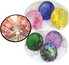 Diamante Brilhante Grande Expositor De Unhas Promoção