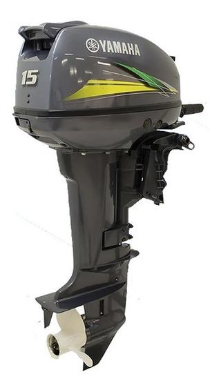 Motor De Popa Yamaha 15 Hp Modelo Gmhs 0km Grátis Carrinho