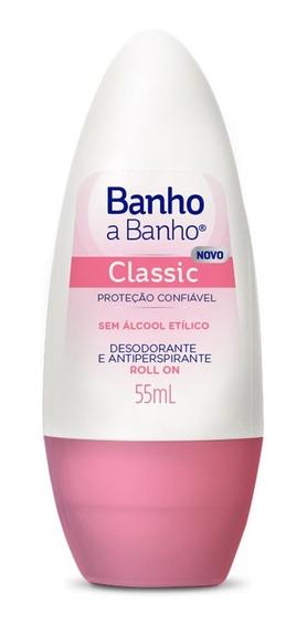 Desodorante Banho A Banho Rollon Classic 55ml