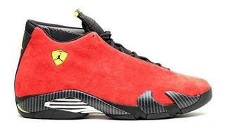Los Zapatos Jordan Air 14 Retro Ferrari Menøs Desafían A Ro