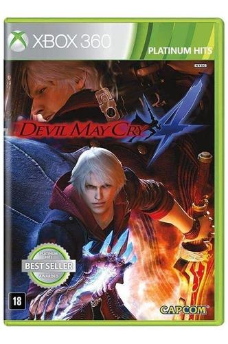 Jogo Devil May Cry 4 (novo) Xbox 360