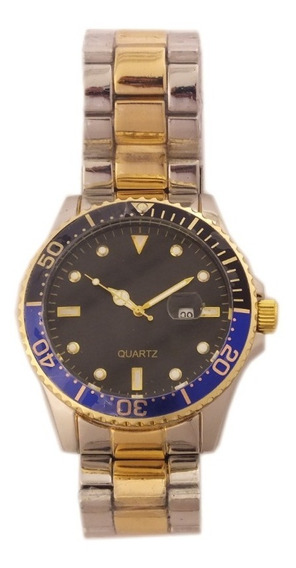 Relógio De Pulso Masculino Quartz Pulseira Metálica B5690