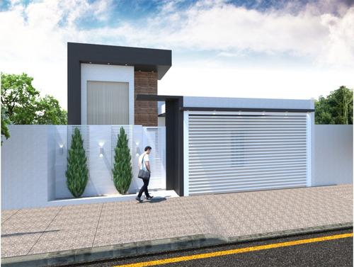 Imagem 1 de 8 de Planta De Casa 3 Quartos - Arquitetônico + Elétrico + Hidro