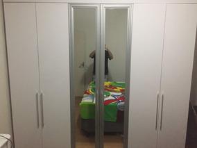 Guarda Roupa Bartira Maceió 6 Portas Com Espelho