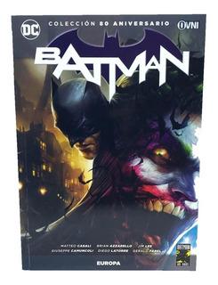 Batman 80 Aniversario Nº 05 Europa L:17
