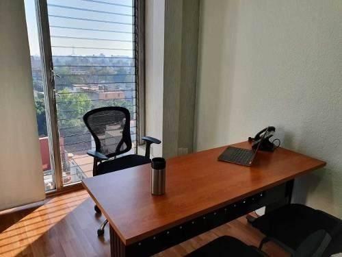 Al 50% Oficinas En Renta Amueblada 12 M2,roma Sur, Cdmx