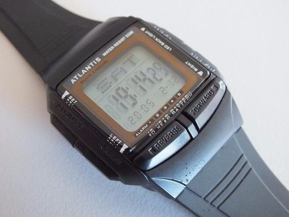 Relógio Atlantis Digital Telememo Databank