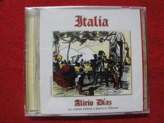 Cd Disco Compacto - Italia - Alirio Diaz - Guitarra Clasica