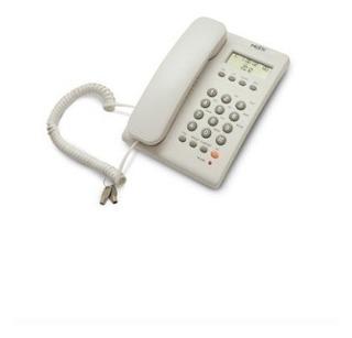 Teléfono Alámbrico Misik Manos Libres Flash Mute Mt883