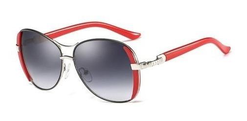 Óculos De Sol Luxuoso Feminino Oval Hdcrafter