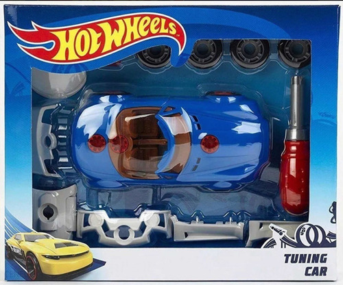 Hot Wheels Tuning Car Auto Desarmable.