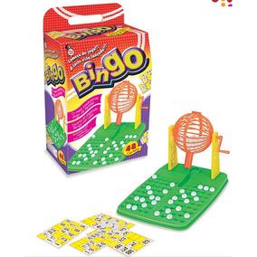 Jogo Bingo Completo Com Tabuleiro E Numeros Em Alto Relevo +