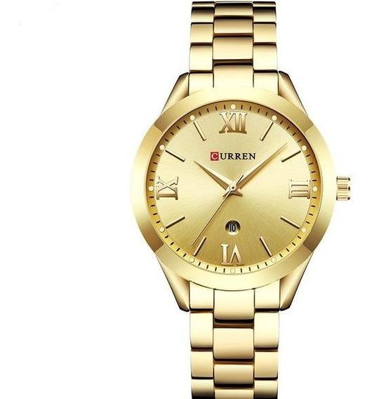 Relógio Curren Feminino Original Com Caixa