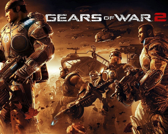 Gears Of War 2 | Key 25 Dígitos | Xbox One