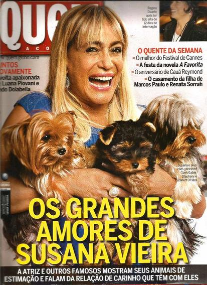 Revista Quem 403/2008 - Susana/regina Duarte/deborah Secco