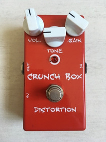 Pedal Mi Effects Crunch Box Distortion