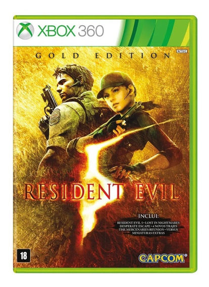 Game Xbox 360 Resident Evil 5 Gold Edition Pix90