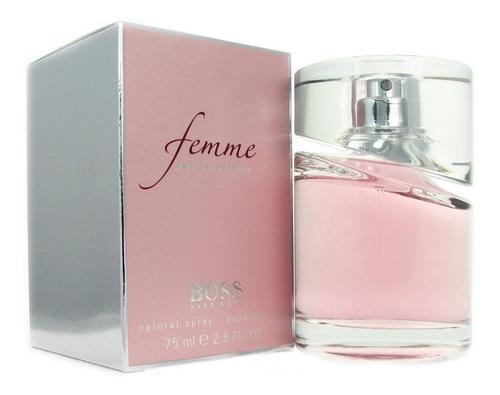 Perfume Hugo Boss Femme 75ml  Para Mujer Mil Esencias