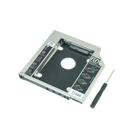 Case Adaptador Universal 9.5mm Segundo Hd Ssd Sata Notebook