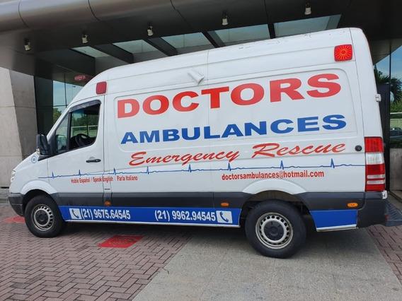 Ambulância Mercedes Benz Básica