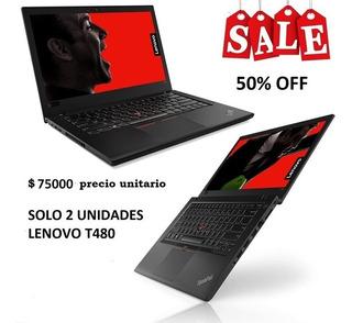 Notebook Lenovo Thinkpad T480 I5 Con W10 Pro
