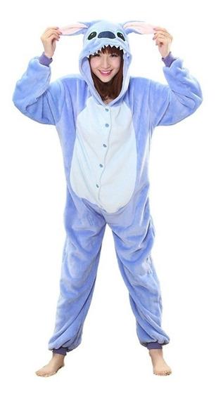 Pijama Enteros Stitch - Pijamas Enterito Niños Adultos