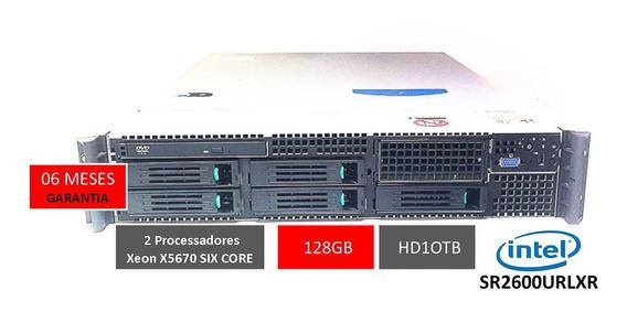 Storage Intel 10tb 2u 128gb Virtualização