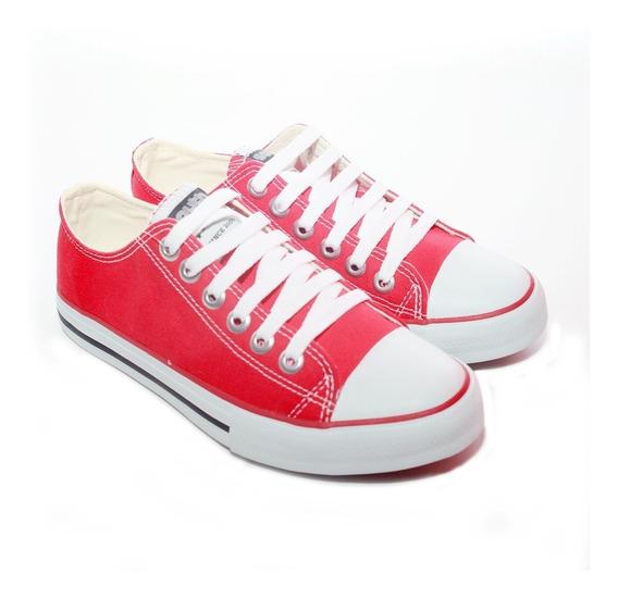 Zapatillas Mujer Estilo Converse Sneakers Livianas Lona