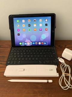 iPad Pro 9.7 256 Gb+ Teclado Esp+ Apple Pencil+ Adaptador Tv