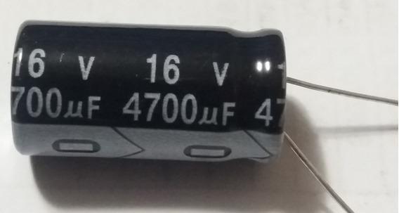 Capacitor Eletrolítico 4700uf X 16v 105° 5 Peças