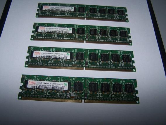 Memoria Ddr2 512mb 533mhz Hynix Hymp564u72bp8 X 4 Unidades