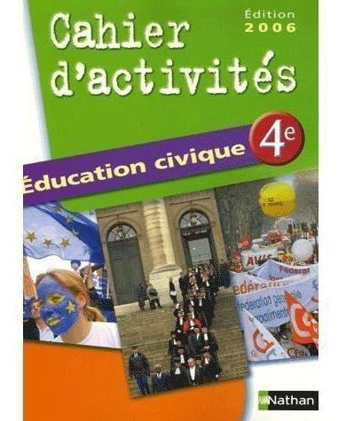 Education Civique 4e - Cahier D