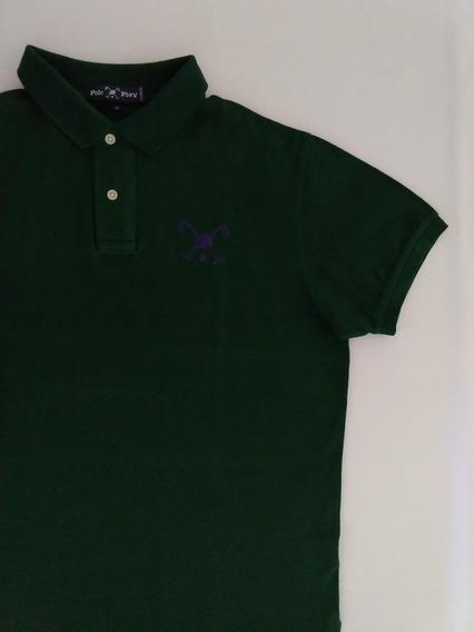 Polo Play Camisa Polo Masculina M Original Verde Escuro