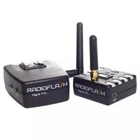 2 Receptor E 1 Transmissor Radio Flash Digi 8 Ttl Radioflash