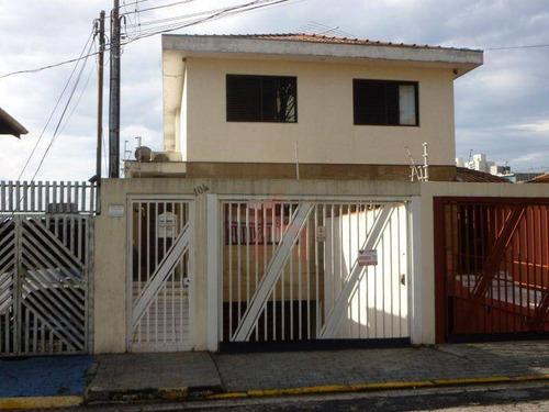Imagem 1 de 30 de Sobrado À Venda, 236 M² Por R$ 1.200.000,00 - Vila Firmiano Pinto - São Paulo/sp - So0011