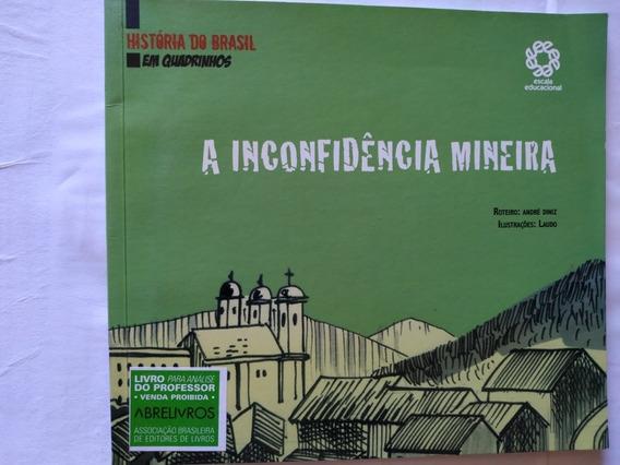 Hq História Do Brasil Em Quadrinhos, Inconfidência Mineira