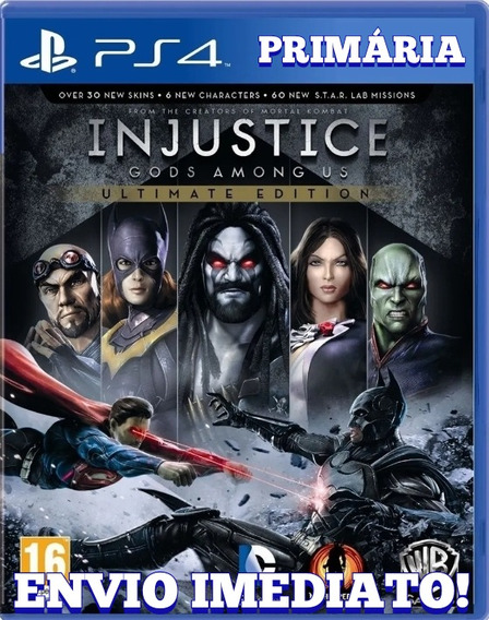 Injustice Gods Among Us Ultimate Ps4 1° Digital Psn Original